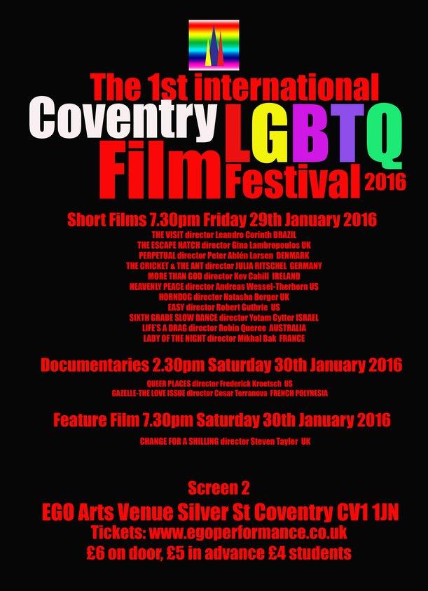 Coventry LGBTQ Fest posterprog