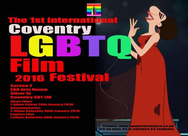 1st International Coventry LGBTQ Film Festival