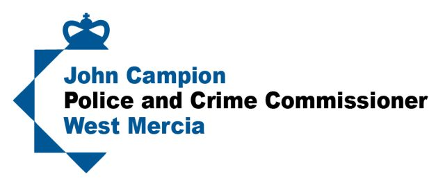 John Campion Police and Crime Commissioner West Mercia